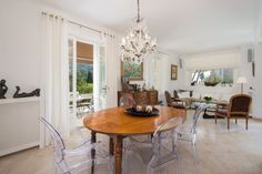 Oversized Mirror, Dining Table, France, Furniture, Beautiful, Home Decor, Decoration Home, Room Decor, Dinner Table