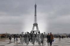 The Eiffel Tower, Paris, 1940.