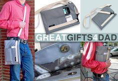 Father's Day: iPad Sleeve with Removable Cross-Body Shoulder Strap | Sew4Home