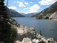 Mystic Lake in Montana. Hiked here with my dad and brothers when we were kids. Will get back some day.