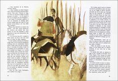 Don Quixote illustration by Roc Riera Rojas
