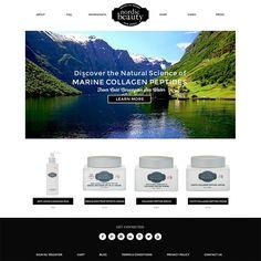 Custom Wordpress Website Design for Nordic Beauty | Viva la Violet | ARCHIVED DESIGN | View recent projects at www.vivalaviolet.com/portfolio