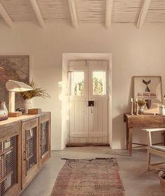 Pensao Agricola, near Tavira, Algarve - Explore & Book Algarve, Tavira Portugal, Casa Hotel, Turbulence Deco, Living Spaces, Living Room, Old Farm Houses, Interior Decorating, Interior Design