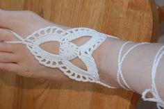 Barefoot Sandals Crochet Pattern | Tri-loop Barefoot ... by Shannon K. | Crocheting Pattern