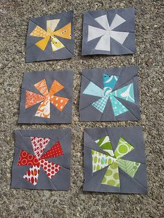 Fun block for a quilt!  DQS blocks... by meliketocraft, via Flickr