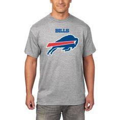 Men's Buffalo Bills Majestic Gray Critical Victory T-Shirt