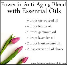 """""""Anti aging skin care"""" is about discipline. Anti aging skin care is retarding the ageing process. Here are a few tips for proactive anti aging skin care: Best Anti Aging Creams, Anti Aging Tips, Anti Aging Skin Care, Essential Oils For Skin, Essential Oil Blends, Organic Skin Care, Natural Skin Care, Natural Beauty, Natural Oil"""