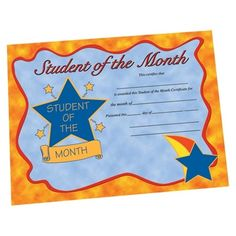 editable student of the month awards cute owls owl students and pta