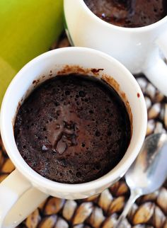 Molten Chocolate Microwave Cake. The only mug cake I've eaten more than once.