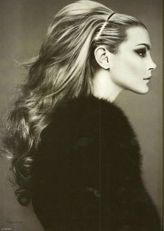 That hair! --Jessica Stam photograph