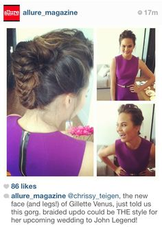 Possible wedding updo for Sara?