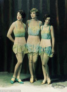 1920's underwear. @designerwallace