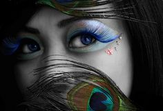 #Peacock Makeup #Cosmetics #Makeup