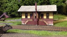 Highly Detailed HO Scale Model Railroad Boston & Maine Cheshire Branch b...