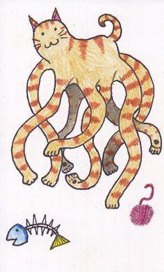 Tentacles & Eightacles on Pinterest | Octopus, Kraken and Baby Octopus
