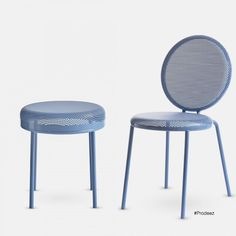 Dimma Chair and Stool by Alexander Lervik. For more info and images visit www.prodeez.com #furniture #chair #stool #creative #design #ideas #designer #alexanderlervik #interior #interiordesign #product #productdesign #instadesign #style #art #furnituredesign #prodeez #industrialdesign by prodeez