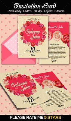 sample of invitation card