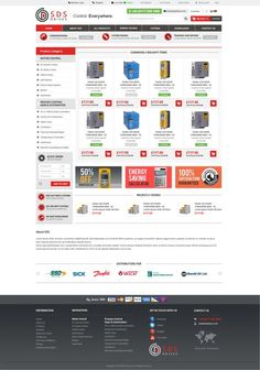 Create Simple, Modern Ecommerce Theme for Industrial Controls Company by Anutik
