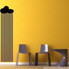 Pluie - Stickers Muraux Pays Et Villes / ambiance-live.com
