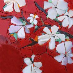 Pâte de verre Albertini - 180 x 180 mm by Michelle Combeau Mosaïste