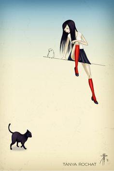 http://www.tanyarochat.com/portfolio/day-illustrations/ #trillustrations #trart #illustration #illustrationart #art
