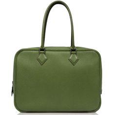 Hermès Green Plume Bag