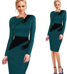 Elegatní šaty pro elegantní ženy zelené – šaty pro ženy Na tento produkt se vztahuje nejen zajímavá sleva, ale také poštovné zdarma! Využij této výhodné nabídky a ušetři na poštovném, stejně jako to udělalo již …