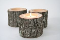 'Tree Branch Candle Holders II- Featured in Country Living, Rustic Wood Candle Holders, Wooden Candle Holders, Wedding Centerpiece' on Wish, check it out! Rustic Candle Holders, Candle Holders Wedding, Candle Holder Set, Thanksgiving Decorations, Thanksgiving Table, Tree Branches, Rustic Wood, Tea Lights, Creations