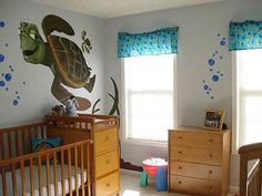 Comfortable Kids Room Ideas With Sea Theme 9711 Turtle Nursery