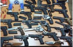 Αστυνομικοί προμήθευαν όπλα σε κακοποιούς Hand Guns, Nerf, Greece, Army, World, Weapons, Fire, Firearms, Greece Country