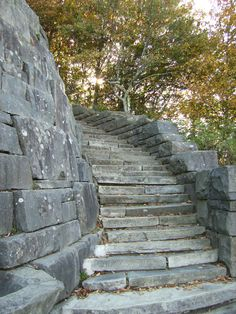 1000 Images About Curved Stone Steps On Pinterest