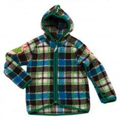 01a4eb5a1d3 Molo Upton Fleece brown check