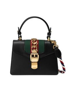 56cacc074608 Gucci Black Sylvie Mini Bag. Womens Designer BagsDesigner HandbagsCheap PursesGucci  Handbags NordstromGucci ...