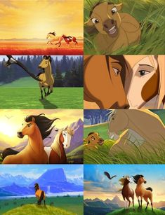I remember the sun, the sky, and the wind calling my name in a time when we ran free. I'll never forget the sound and the feeling of running together. The hoof beats were many, but our hearts were. Spirit Horse Movie, Spirit The Horse, Spirit And Rain, Dreamworks Animation, Disney And Dreamworks, Disney Animation, Disney Pixar, Horse Animation, Horse Drawings