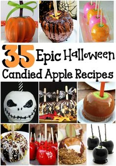 This Halloween, serve up fun with these 35 Epic Halloween Candied Apple Recipes. From caramel, to chocolate, to out of this world, you'll love them all! Halloween Candy Apples, Easy Halloween, Halloween Treats, Halloween Party, Halloween 2020, Halloween Cakes, Halloween Stuff, Mason Jar Crafts, Mason Jar Diy
