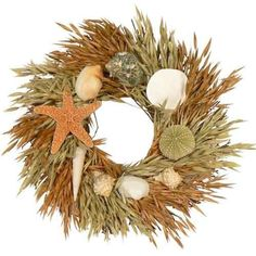 seahsell wreath | visit bluebarnacles com