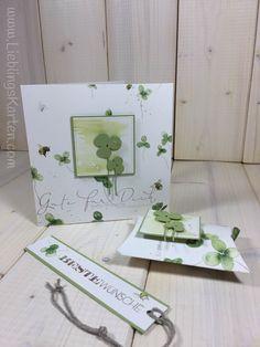 """Geburtstagsset """"Glück hoch 3"""" - Lieblingskarten"""