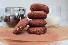 Cacao and Coconut Cookies