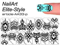 Nail Manicure, Diy Nails, Nail Art Modele, Henna Nails, Nailart, Galaxy Nail Art, Nail Drawing, Mandala Nails, Nails Only