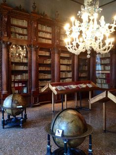 Pisani #Library of San Vidal at the Correr Museum in #Venice #Italy http://bibliophileadventures.com