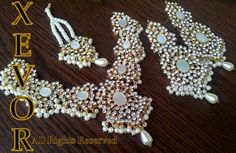 xevor stones and kundan jewellery collection 2013 5