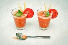 Pomodoro rosso ghiacciato