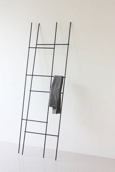 Ladder / coat rack by Yenwen Tseng Design Studio