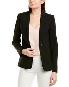 Alfred Dunner Womens Red Black Sparkle Boucle Collarless Jacket Blazer