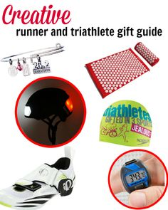 creative gifts for the runner and triathlete fitgifts giftideas christmas gift guide christmas
