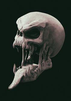 ArtStation - Skull, Ihor Dmytrenko
