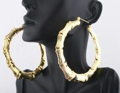 Gold hoops, with the right outfit this could work