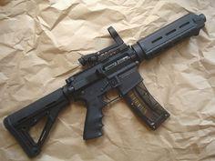 Thompson Machine integral suppressed SBR in a plain brown wrapper Weapons Guns, Guns And Ammo, Ar Rifle, Ar Pistol, Ruger 10/22, Powerful Art, Submachine Gun, Survival Mode, Tactical Gear