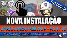 Método NOVO Apps e Jogos Grátis Sem Jailbreak // iOS 9