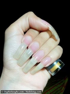 Long Nature Nails The Secret 58 Trendy Ideas Sexy Nails, Love Nails, Pretty Nails, Nail Picking, Long Natural Nails, Secret Nails, Long Fingernails, Nail Garden, Curved Nails